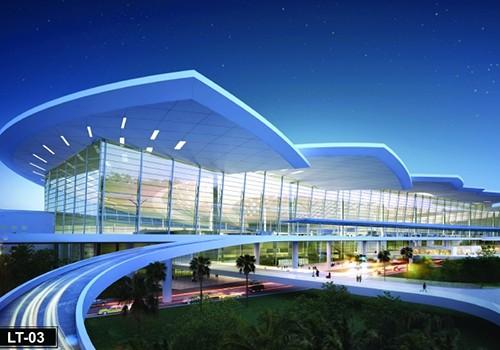 Phương án thiết kế sân bay Long Thành hình hoa sen cách điệu.