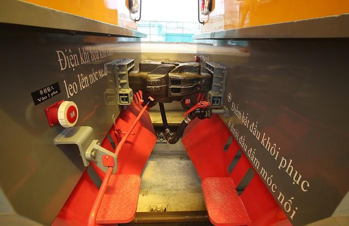 Tuyến đường sắt đô thị đầu tiên chạy tàu thử nghiệm - ảnh 9