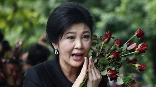 Cựu thủ tướng Yingluck Shinawatra. Ảnh:AP.