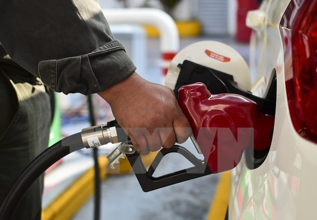 Một trạm bán xăng dầu ở thủ đô Mexico City của Mexico. (Ảnh: AFP/TTXVN)