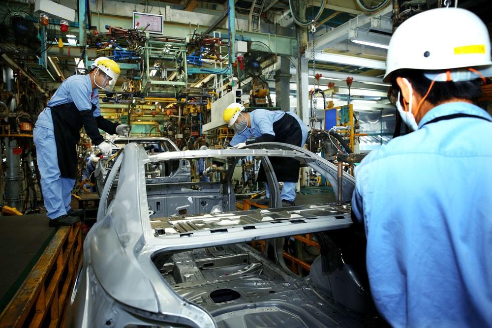 Hiện nay, 89,7% vốn FDI của tỉnh Vĩnh Phúc tập trung vào lĩnh vực công nghiệp. Ảnh: Tiên Giang