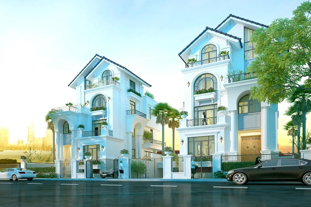 Với quy mô 14,59 ha, Saigon Mystery Villas gồm 279 căn nhà phố liên kế và 72 căn biệt thự