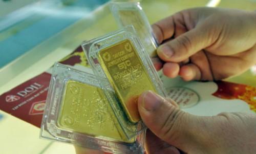 Giá vàng chưa xác định rõ xu hướng. Ảnh:PV.