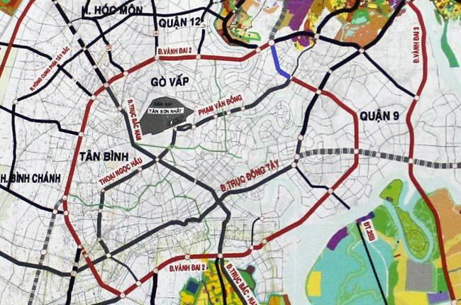 Dự án đường kết nối Phạm Văn Đồng - Gò Dưa - Quốc lộ 1 (quận Thủ Đức) được Văn Phú - Invest thực hiện theo hình thức BT