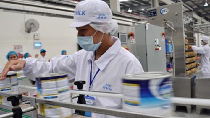 Hoạt động sản xuất của Vinamilk.