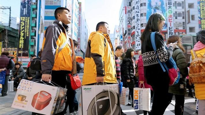 Tính đến ngày 4/11/2017, lượng khách du lịch nước ngoài đến Nhật đã vượt con số cả năm ngoái.