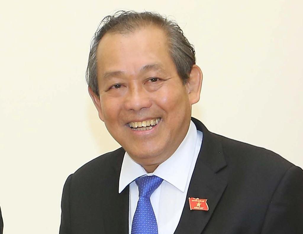 Phó Thủ tướng Thường trực Chính phủ Trương Hòa Bình. - Ảnh: VGP