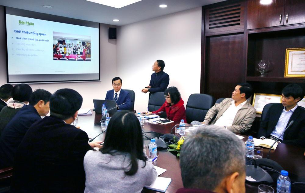 Báo Đấu thầu tiếp Đoàn đại biểu Hội Nhà báo toàn Trung Quốc - ảnh 2