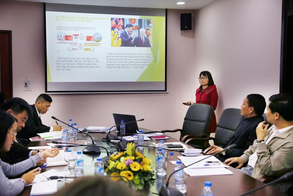 Báo Đấu thầu tiếp Đoàn đại biểu Hội Nhà báo toàn Trung Quốc - ảnh 3
