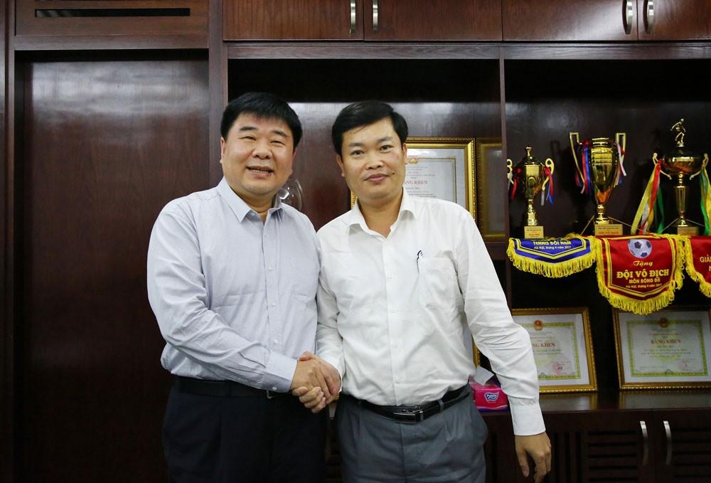 Báo Đấu thầu tiếp Đoàn đại biểu Hội Nhà báo toàn Trung Quốc - ảnh 1
