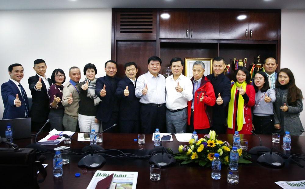 Báo Đấu thầu tiếp Đoàn đại biểu Hội Nhà báo toàn Trung Quốc - ảnh 4