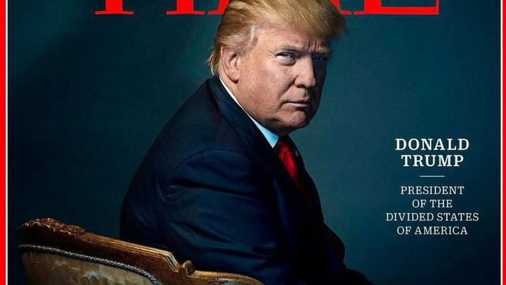 """Ông Trump tuyên bố từ chối danh hiệu """"nhân vật của năm"""""""