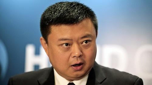 Wang Jin đã mất gần hết tài sản trong vài năm qua. Ảnh:Bloomberg