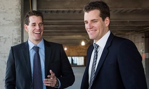 Anh em nhà Winklevoss đã có tài sản tỷ USD nhờ Bitcoin. Ảnh:AFP