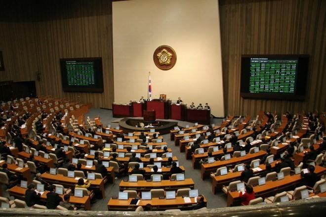 Một phiên họp của Quốc hội Hàn Quốc. (Nguồn: businesskorea)