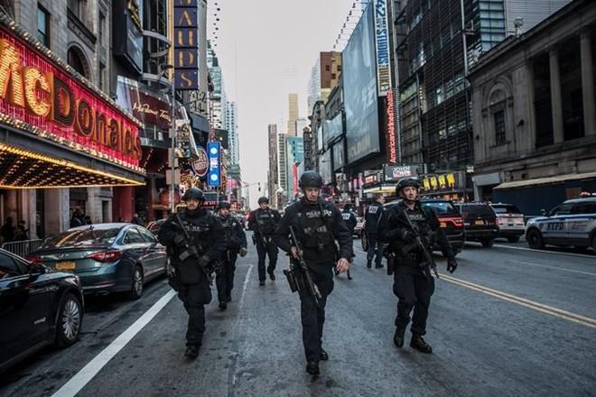 An ninh được tăng cường sau vụ nổ. (Nguồn: nytimes.com)