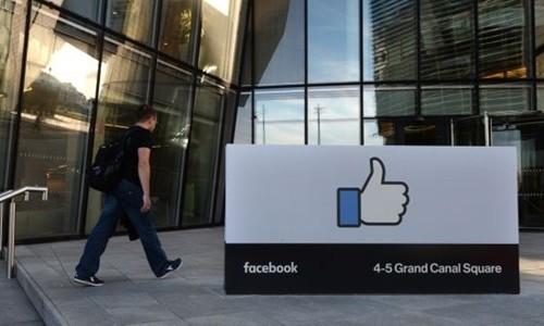 Facebook sẽ không ghi nhận doanh thu quốc tế qua trụ sở tại Dublin nữa. Ảnh:Irish Times