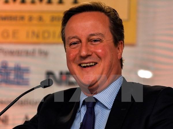 Cựu Thủ tướng Anh David Cameron. (Nguồn: AFP/TTXVN)