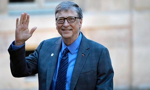 Bill Gates hiện có tài sản hơn 90 tỷ USD. Ảnh:AFP