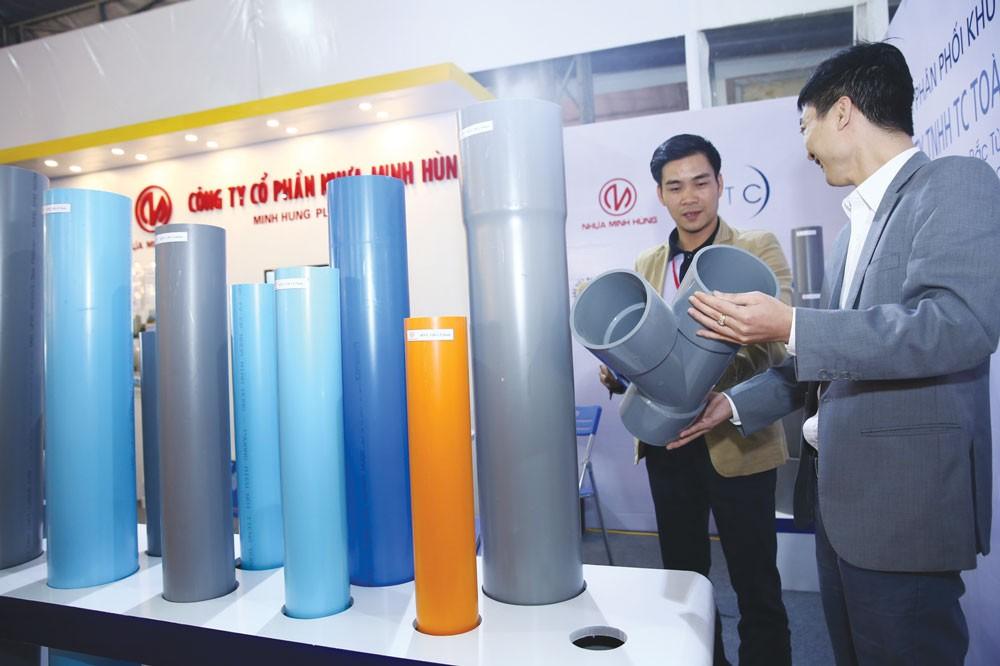 Các doanh nghiệp Việt vẫn chưa coi phát triển thương hiệu là một công cụ kinh doanh đúng nghĩa. Ảnh: Tiên Giang