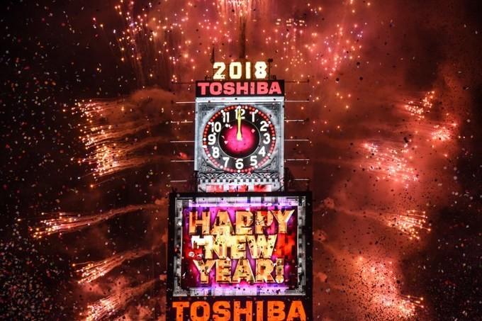 Những màn pháo hoa mãn nhãn chào 2018 - ảnh 10