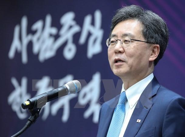 Bộ trưởng Thương mại Hàn Quốc Kim Hyun-chong. (Nguồn: Yonhap/TTXVN)