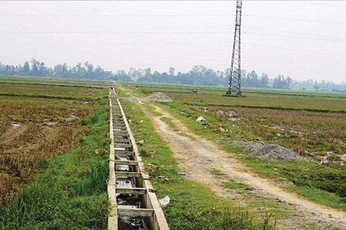 Dự án Nâng cấp hệ thống thủy lợi ngăn mặn, chống hạn xã Nghi Vạn, huyện Nghi Lộc, tỉnh Nghệ An