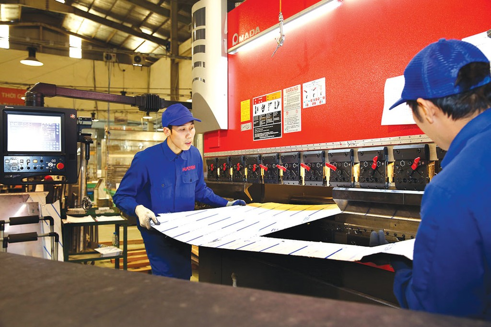 Chương trình Phát triển công nghiệp hỗ trợ do Chính phủ Nhật Bản tài trợ đã hỗ trợ nâng cao năng suất, chất lượng cho hơn 212 DN Việt Nam. Ảnh: Lê Tiên