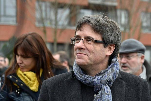 Cựu Thủ hiến Catalonia Carles Puigdemont. (Nguồn: AFP)
