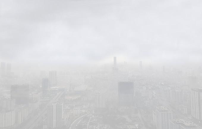 Hà Nội chìm trong sương mù - ảnh 10