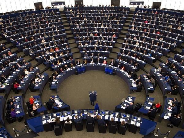 Toàn cảnh cuộc họp Nghị viện châu Âu ở Strasbourg, miền đông Pháp. (Nguồn: AFP/TTXVN)