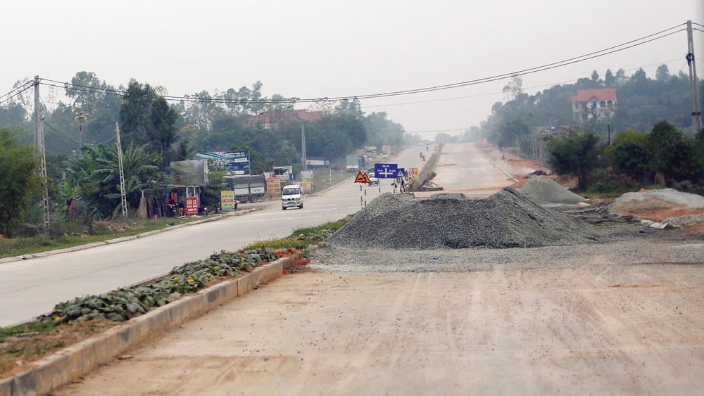 Toàn bộ các gói thầu mà Công ty TNHH Vinh Ánh trúng thầu đều nằm trên địa bàn tỉnh Tuyên Quang. Ảnh: Nhã Chi