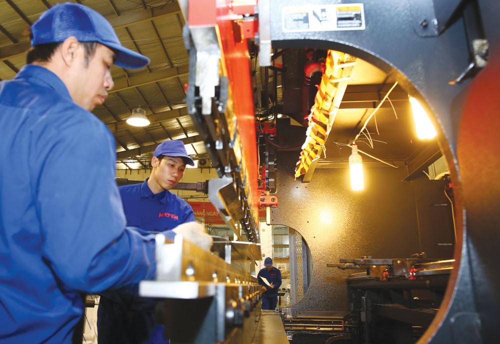 Khởi động Dự án Hỗ trợ Việt Nam tăng cường tiết kiệm năng lượng trong ngành công nghiệp. Ảnh: Hoài Tâm