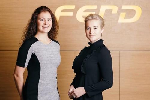 Hai chị emAlexandra (trái)và Katharina Andresen. Ảnh:Ferd