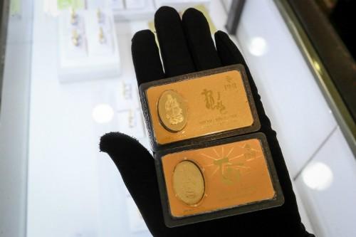 Giá vàng trong nước tăng giảm khó lường. Ảnh:Thành Nguyễn.