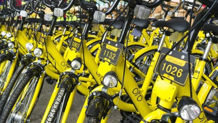 Ofo hiện là một trong 2 startup chia sẻ xe đạp lớn nhất tại Trung Quốc - Ảnh: Techcrunch.