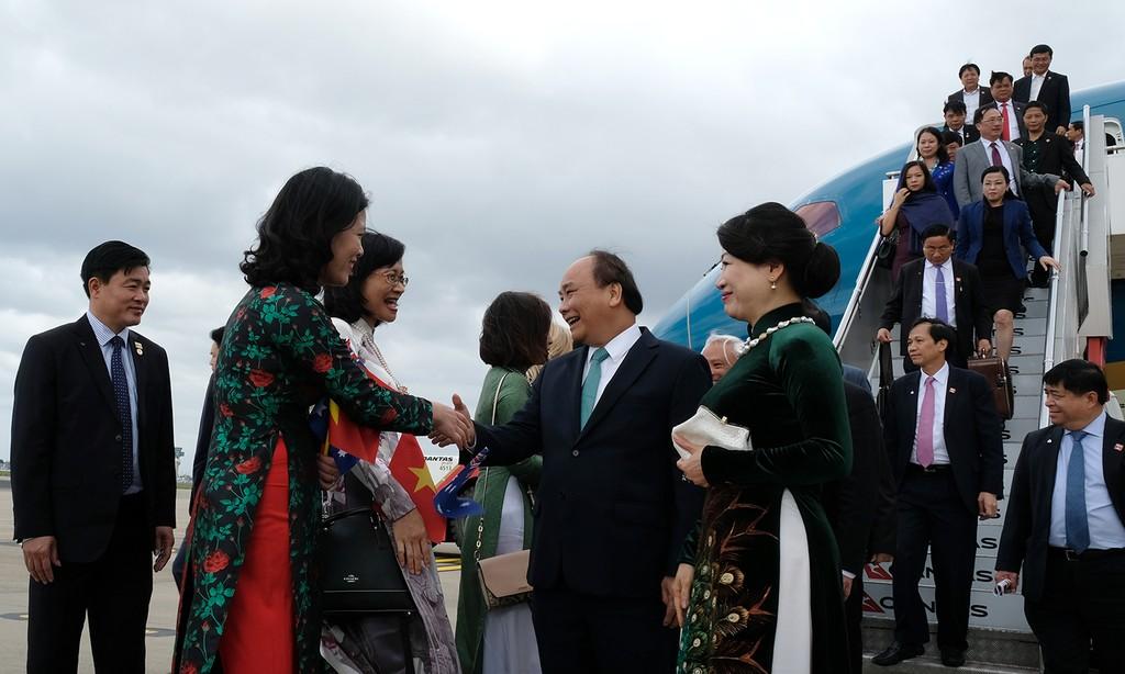 Thủ tướng đến thành phố Sydney, dự Hội nghị ASEAN-Australia - ảnh 2