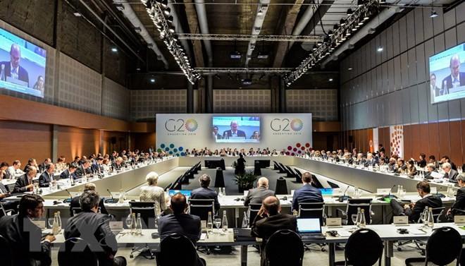 Toàn cảnh lễ khai mạc hội nghị bộ trưởng tài chính G20. (Nguồn: AFP/TTXVN)