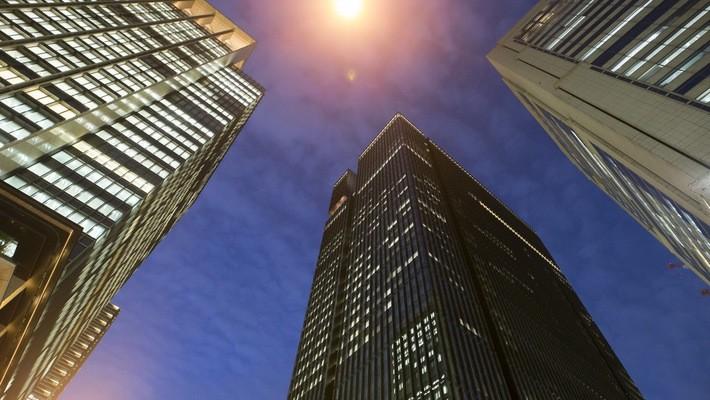 Thị trường văn phòng cho thuê của Tokyo đắt thứ 3 thế giới - Ảnh: Bloomberg.