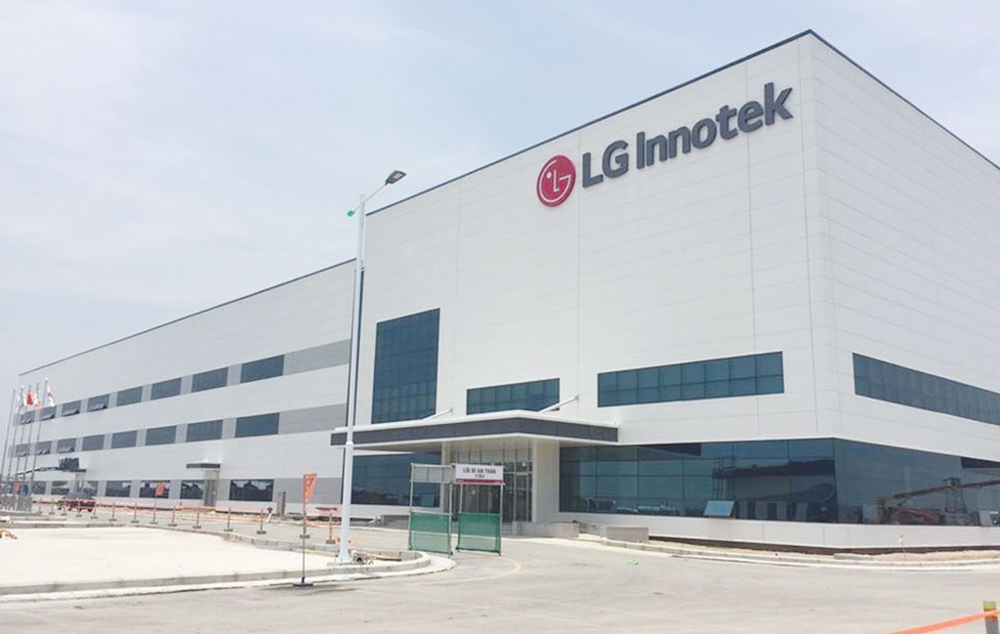 Với hơn nửa tỷ USD tăng vốn tại Dự án Nhà máy LG Innotek Hải Phòng, Hàn Quốc tiếp tục giữ vững ngôi đầu trong đầu tư vào Việt Nam. Ảnh: Hoài Tâm