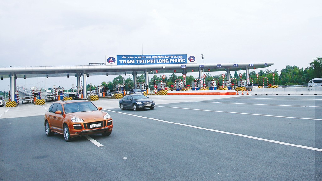 Hệ thống thu giá sử dụng đường bộ không dừng của tuyến cao tốc TP.HCM - Long Thành - Dầu Giây đang sử dụng công nghệ DSRC. Ảnh: Hoài Tâm