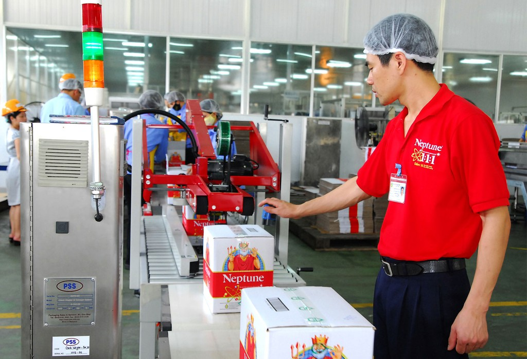Quý I năm nay GDP tăng trưởng đột biến chủ yếu là nhờ ngành công nghiệp chế biến, chế tạo. Ảnh: Gia Khoa