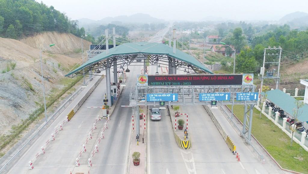 Dự án BOT Đầu tư tuyến đường Thái Nguyên - Bắc Kạn và Nâng cấp, mở rộng Quốc lộ 3 có tổng mức đầu tư hơn 2.700 tỷ đồng. Ảnh: Bích Thảo