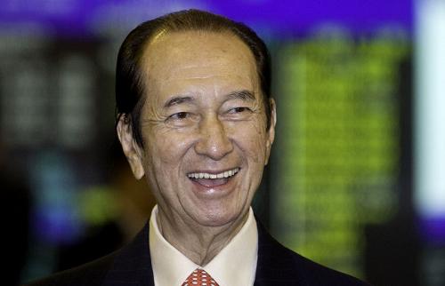 Tỷ phú Stanley Ho. Ảnh:Bloomberg.
