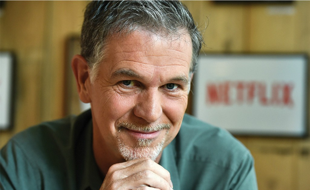 CEO NetflixReed Hastings. Ảnh:Newscom.
