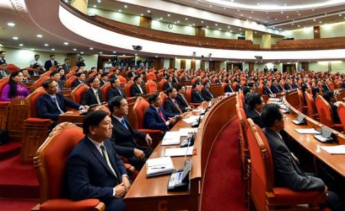 Hội nghị Trung ương 7 sẽ làm việc một tuần, bế mạc vào ngày 12/5. Ảnh:TTX