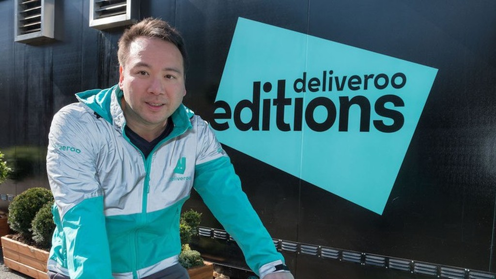 Will Shu - Người đồng sáng lập Deliveroo - Ảnh: Business Insider.