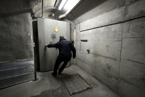 Xapo có một mạng lưới hầm ngầm tại 5 châu lục. Ảnh:AFP