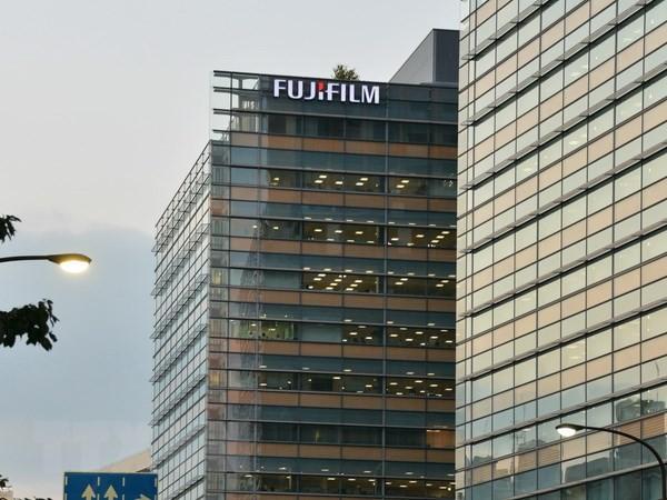 Trụ sở của Fujifilm tại Tokyo của Nhật Bản. (Ảnh: AFP/TTXVN)