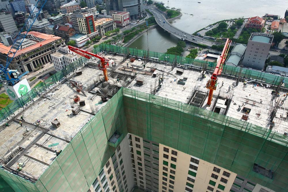 Các điều kiện kinh doanh trong lĩnh vực xây dựng phức tạp gây khó khăn cho chủ đầu tư, nhà thầu. Ảnh: Lê Tiên